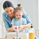 importância do hábito de lavar as mãos